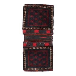 "Pasargad NY Antique Persian Shiraz Saddlebag Rug - 2'1"" X 4'10"" - 2'1"" X 4'10"""