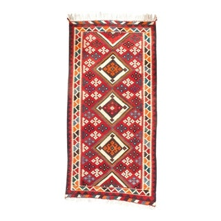 "Pasargad NY Antique Persian Shiraz Kilim Rug - 4'8"" x 9'5"" - 4'8"" x 9'5"""