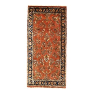 "Pasargad NY Sarouk Design Hand Knotted Rug - 2'5"" x 5' - 2'5"" x 5'"