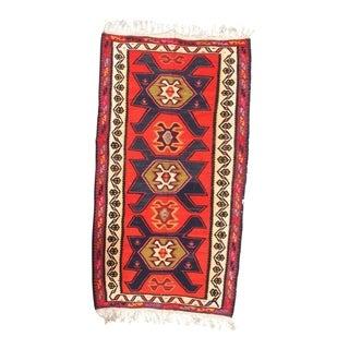 "Pasargad NY Antique Persian Shiraz Kilim Rug - 5'1"" x 9'9"" - 5'1"" x 9'9"""