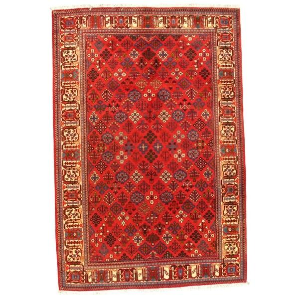 "Pasargad Super-Fine Persian Meimeh Josheghan Rug - 6'9"" X 10' - 6'9"" X 10'"