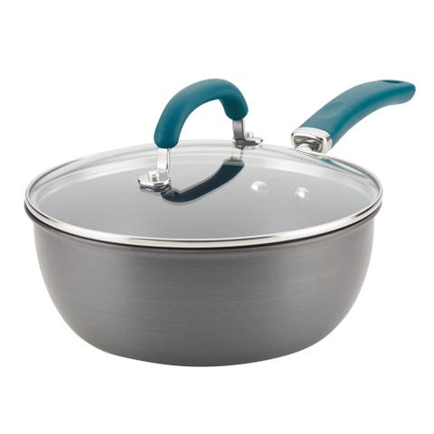 Rachael Ray Create Delicious Hard Anodized Aluminum Everything Pan
