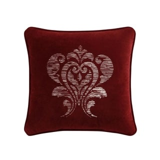 Veratex Allouette Jacquard 18 inch Decorative Throw Pillow