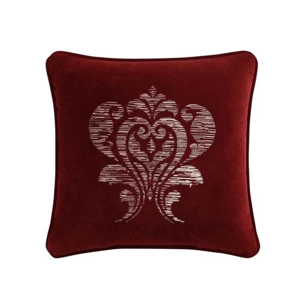 Veratex Allouette Jacquard 18 inch Decorative Throw Pillow