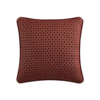 Veratex Allouette Embroidered 18 inch Decorative Throw Pillow