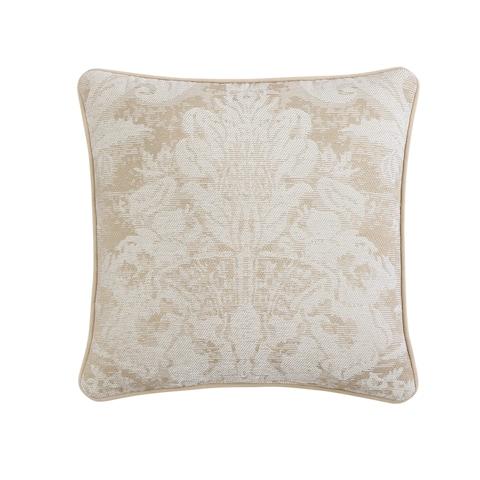 Veratex Brielle Medallion 18 inch Decorative Throw Pillow