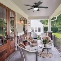Honeywell Belmar 52-inch White Indoor/Outdoor LED Ceiling Fan (As Is Item)