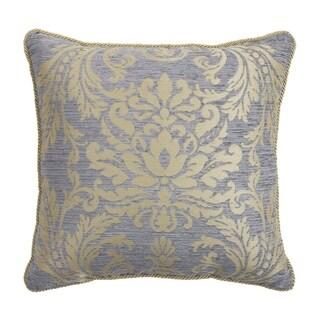 """Croscill Nadia Chenille Damask 18"""" Decorative Pillow"""