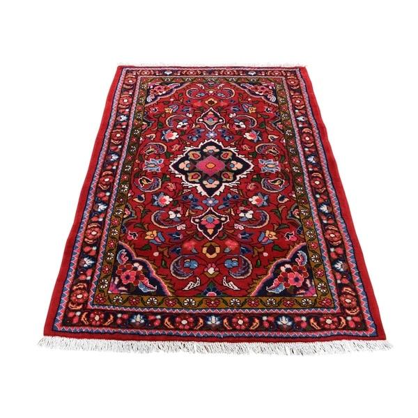 New Persian Hand Tufted Wool Oval Area Rug: Shop Shahbanu Rugs New Persian Lilahan Pure Wool Hand