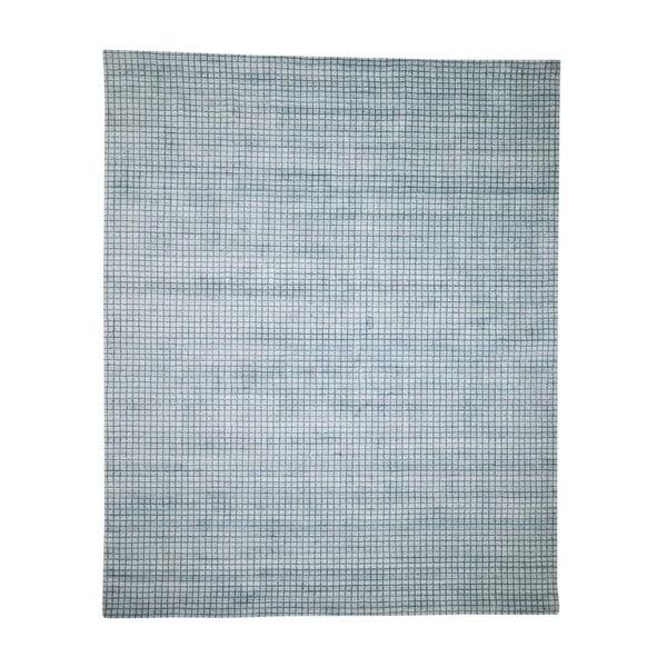 "Shahbanu Rugs Mosaic Design Pure Wool Hand-Loomed Oriental Rug (8'1"" x 9'10"") - 8'1"" x 9'10"""