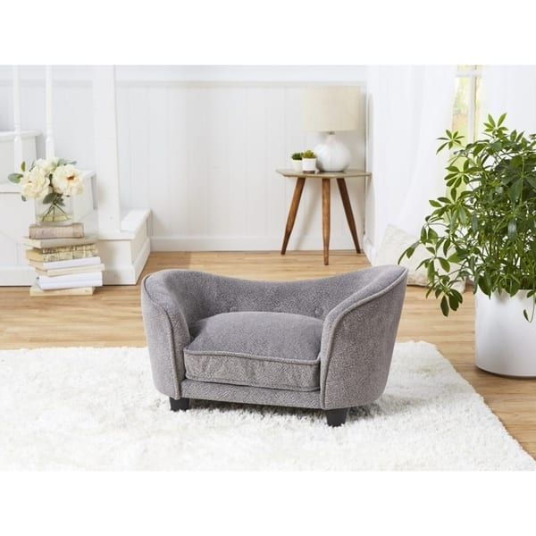 Prime Shop Enchanted Home Pet Snuggle Sofa Abstract Grey Free Creativecarmelina Interior Chair Design Creativecarmelinacom