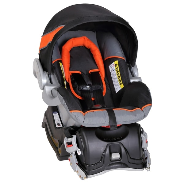 Baby Trend Expedition Jogger Travel System Stroller Car Seat Orange