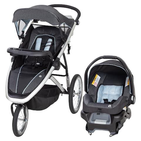 Baby Trend Go Gear Propel 35 Jogger Travel System,Blue Spectrum