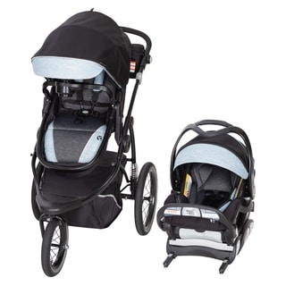 Baby Trend Go Gear 180º 6-in-1 Jogger Travel System, Blue Spectrum