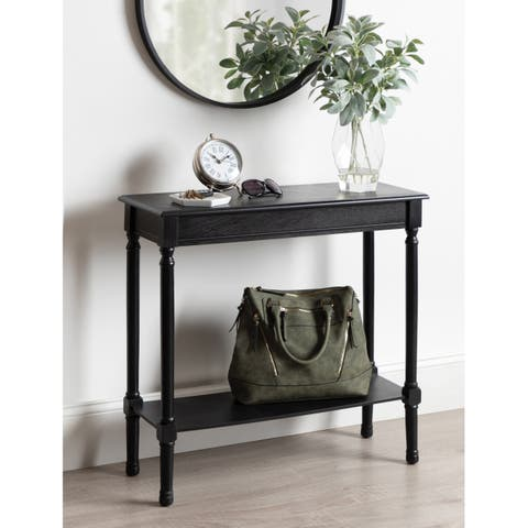 Kate and Laurel Wyndmoore Wood Console Table