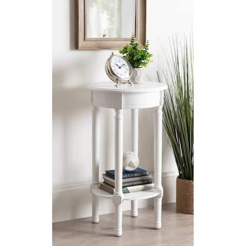 Kate and Laurel Wyndmoore Round Accent Table