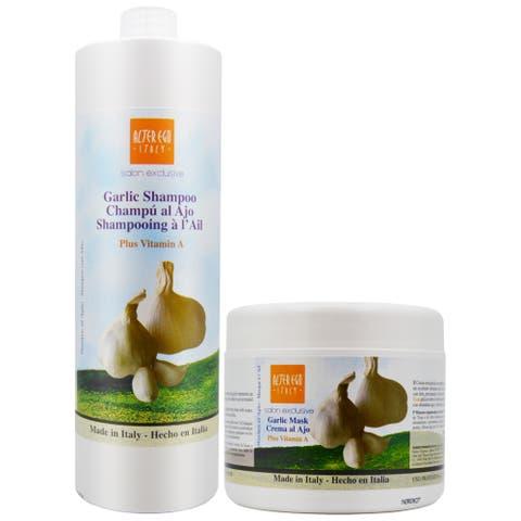 Ever Ego Garlic Vitamin A 33.8-ounce Shampoo & 16.9-ounce Ever Ego Garlic Vitamin A Mask