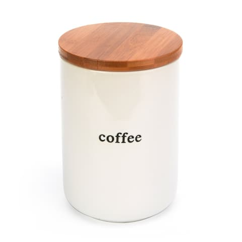 Signature Housewares Expressions Coffee Canister