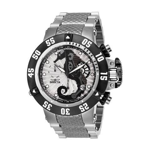 Invicta Men's Subaqua 26226 Stainless Steel, Black Watch