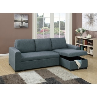 Sleeper Sectional, Gray