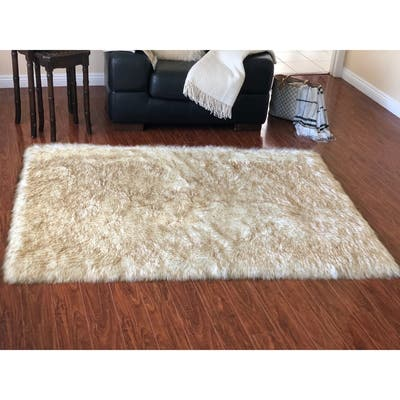 White Suede Area Rugs Online At