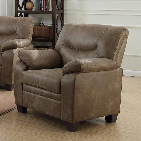Copper Grove Bicetre Brown Pillow-top Armchair