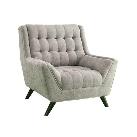 Branson Mid-century Modern Flared Arm Chair