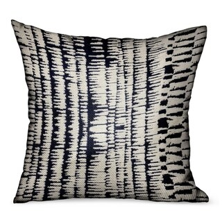 Link to Plutus Radiant Beryl Blue Abstract Luxury Outdoor/Indoor Decorative Throw Pillow Similar Items in Outdoor Cushions & Pillows