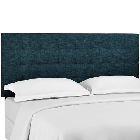 Carson Carrington Stryn Upholstered Linen Fabric Headboard
