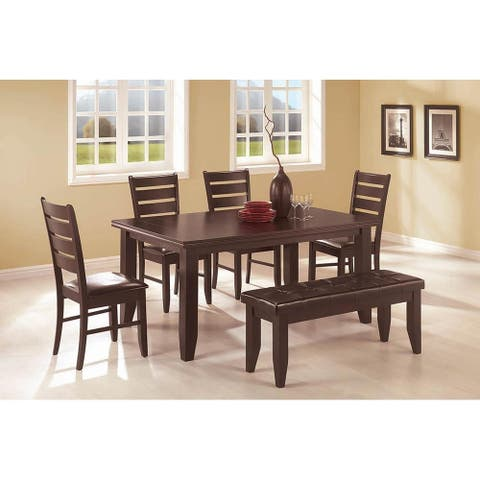 Cornish Casual Cappuccino 6-piece Dining Set
