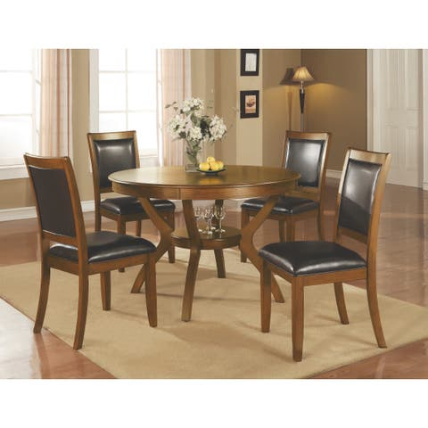 Ralston Black 5-piece Dining Set