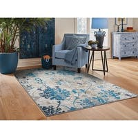 Copper Grove Pantin Distressed Grey Area Rug