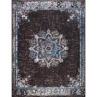 Traditional Distressed Area Rugs Black Rugs