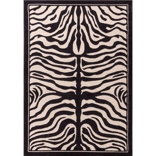 Porch & Den McClintock Zebra Pattern Area Rug
