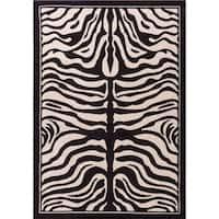 Porch & Den McClintock Zebra Pattern Area Rug