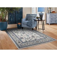 Copper Grove Chepelare Traditional Grey Area Rug