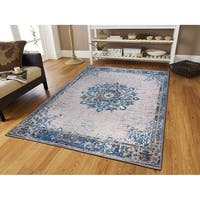 Traditional Distressed Area Rugs Grey Rugs