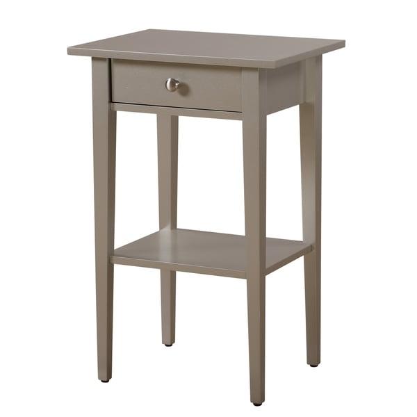 Dalton 1-drawer and Shelf Wooden Nightstand
