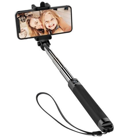 Mpow Bluetooth Selfie Stick Extendable Compact Handheld Selfie Stick