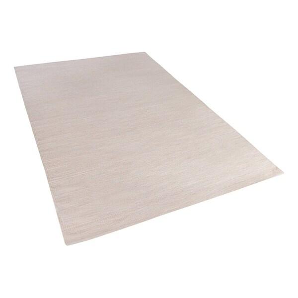 Area Rug 4.6 x 6.6 ft Beige DERINCE