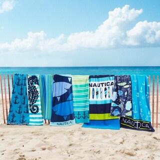 Nautica 2-Piece Beach Towel Sets - 35x66