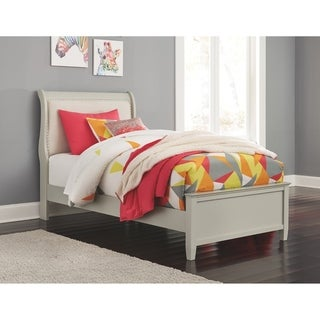 Jorstad Gray Panel Bed