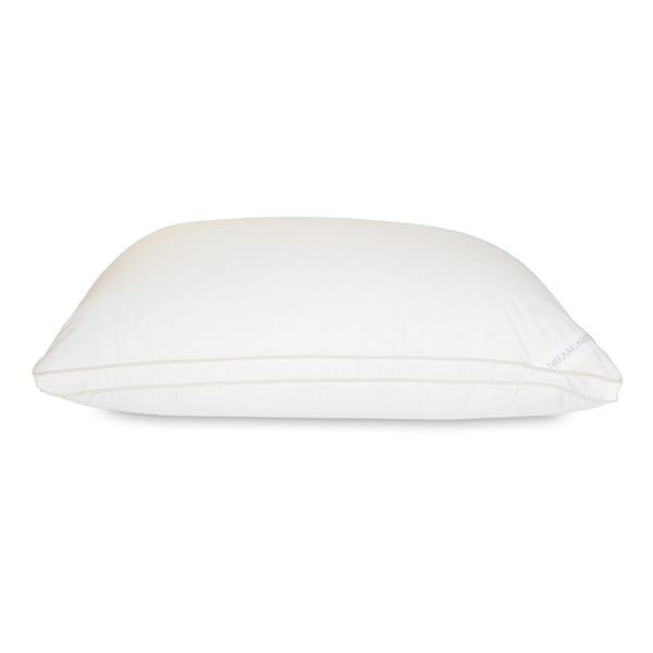 Dream Naturally Wool-Down Halo Pillow - White