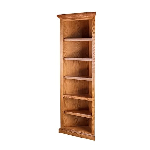 Traditional Corner Bookcase 20 X From 72h