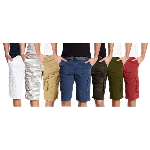 88ebac223b Shop Xray Jeans Mens Belted All Season Casual Cargo Shorts - Free ...