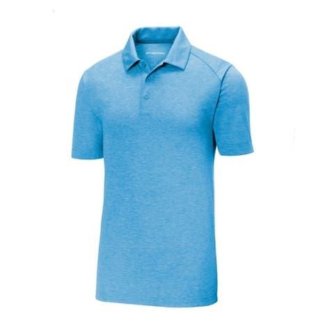 Sport-Tek Posicharge Tri Blend Wicking Polo