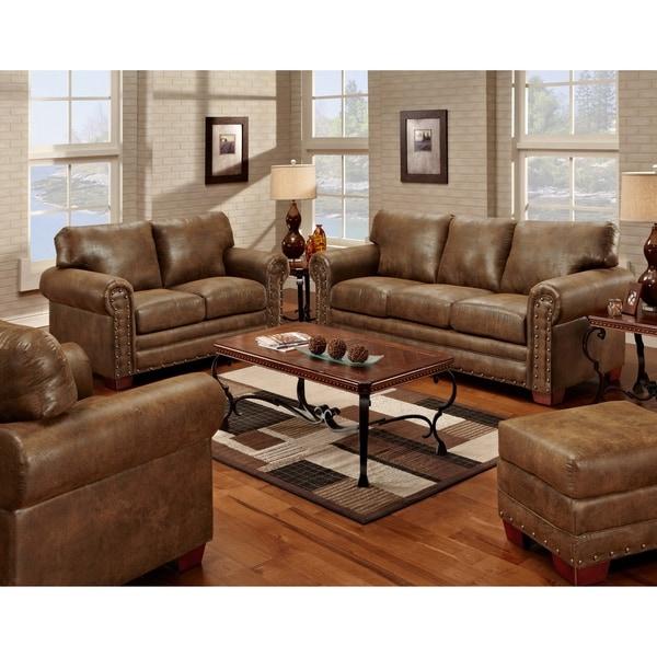 American Furniture Classics 8500-20S Buckskin 4-Piece Sleeper Set