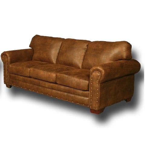 American Furniture Classics Model 8505-20 Buckskin Sleeper Sofa