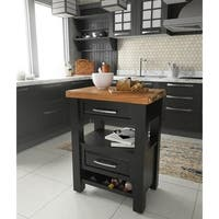 Buy Black, Wine Storage Kitchen Islands Online at Overstock ...