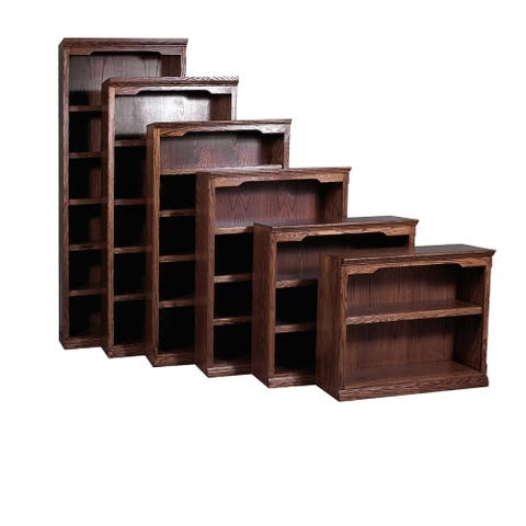 Traditional Solid Hardwood Bookcase